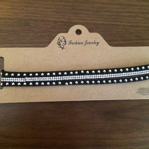 Free with Purchase / new black rhinestone …